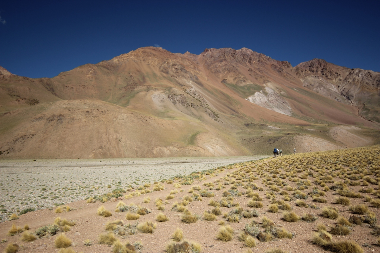 Trek to Aconcagua Base camp